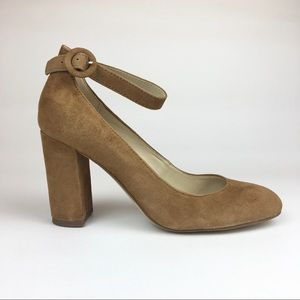 MARC FISHER ION-2 SUEDE PUMP
